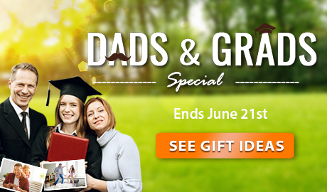 DADS & GRADS Special! Use coupon code DADNGRAD for an extra 10% OFF